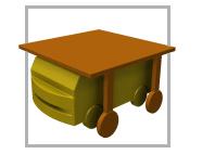 AGV Arraste - Veículo autoguiado com engate e desengate automático com troca do carrinho de arraste