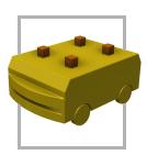 AGV Plataforma - Veículo autoguiado para colheitadeiras e motores