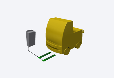 AGV Mesas de Rolos - Carregamentos por rolos, correntes ou esteiras.